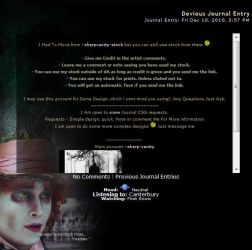 Mad Hatter Journal by thatfire-stock