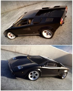 LMB Countach Scene 2 by c4lito3d