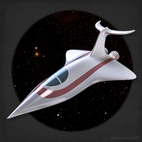 Retro space fighter by m7