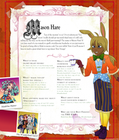 Ever After High: Mason Hare by MevrouwRoze