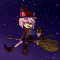 little witch by sonicstarr