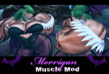 Morrigan Muscle Mod plus Succubus Gallery by Ripped-Pixels