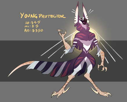 AUCTION: Young Protector CLOSED by Spockirkcoy