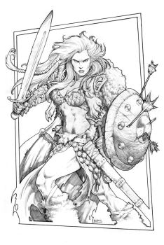 Red Sonja 2014 by RubusTheBarbarian