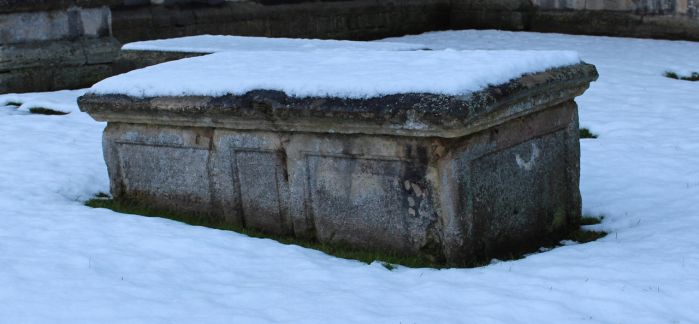 Snow covered Sarcophagus 01 by fuguestock