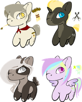 15 Point Adopts (CLOSED) by Danie-mesAdopts
