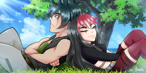 :COMM: In Sunshine and In Shade by juke-boxx