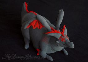 Narrow the Dragon Custom Character Plush by MyBeautifulMonsters