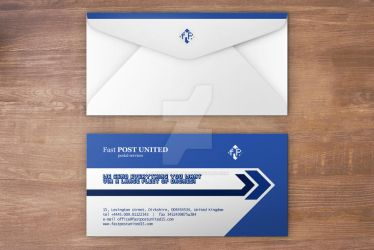 Envelope Design Mock-up by thislooksgreat