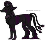 XCLOSEDX Horned purple Demon by NeoAdopts