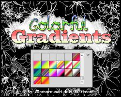 Colorful Gradients by glamorousart
