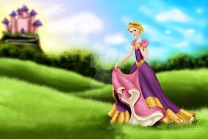 Princess Hannah by piggy-tails