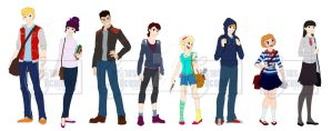 Team Sunshine goes College! by CuriousCucumber