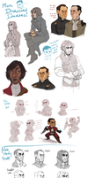MORE DISHONORED DOODLES by SlackWater