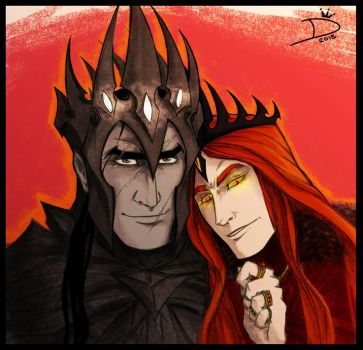 Just a couple of Dark Lords... by Dracontessa
