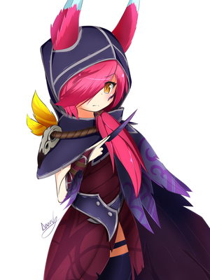 League of Legends - Xayah by AB-Anarchy
