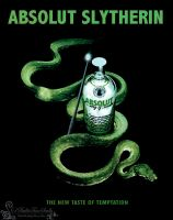 Absolut Slytherin by BulletTimeScully