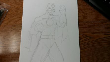 [WIP] Eco-Man - The Sketch Version by sonicadventurer