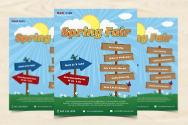 Spring Fair Flyer by xara24