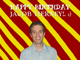 Happy Birthday Jacob Tierney! by Nolan2001