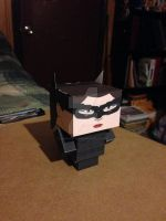 Catwoman, The Dark Knight Rises CubeeCraft by SuperVegeta71290