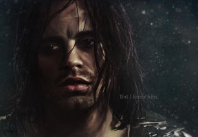 The Winter Soldier, 'But I knew him.' (wallpaper) by thecannibalfactory