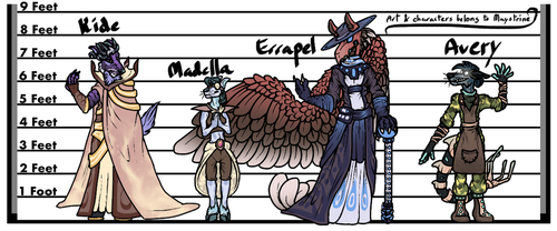 The Redesignening (Height Chart 1) by Maystrine