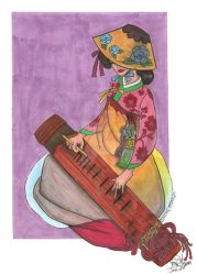 Geomungo player colored by neoreflection