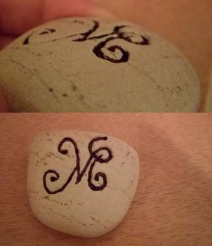 Sand rock engraving test by zhmel