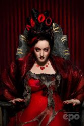 Patchwork Red Queen by ee-po