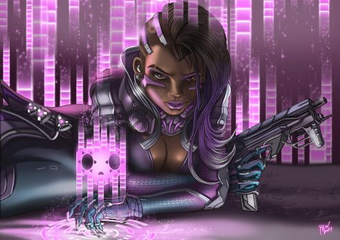 Sombra overwatch by blouson
