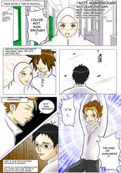 Practice comic colored by Nidduyifos