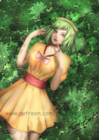 [contest prize] Midori for illusses by SweetyBat
