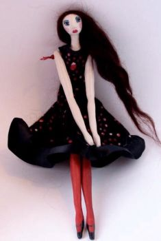 Phoebe - art doll by blackeyedsuzie