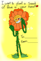Valentine Cagney phase 2 by Creeperchild