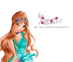 Winx Club Flora Couture Pngs! by PrincessBloom93