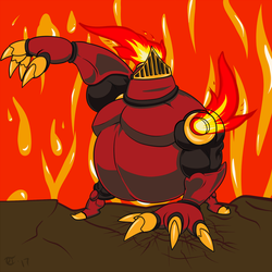 Mole Knight by GoldPaladinSevlow