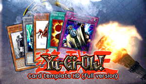 Yu-Gi-Oh! Card Template HD {version 2} by CelticGuard