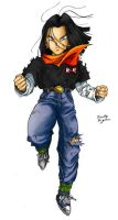 Android 17 by TimothyJamesF