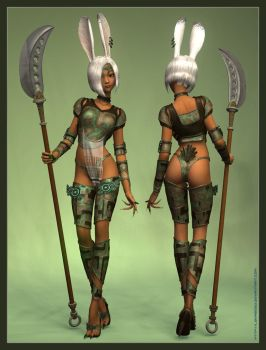 The Viera V'Jal by Lokai2000