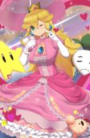 Smash Series: Princess Peach by magisterart