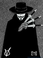 V for Vendetta by squall95