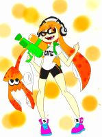 Splatoon: Inkling Girl by DeathPuppy9000