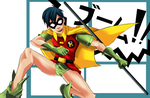 ROBIN- Teen Titans Year ONE by Bill-James
