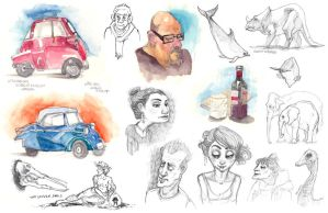Sketches! by cachava