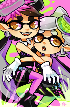 Squid Sisters by KaiTexel