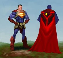 Superman meets WoW by philldwill