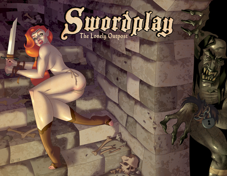 Swordplay: The Lonely Outpost AVAILABLE NOW! by comixmill