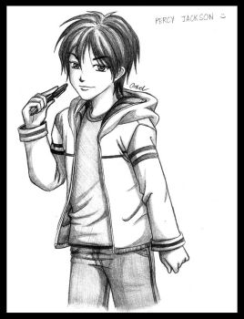 Percy Jackson by germanmissiles