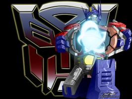 For HighKezzer: Optimus Prime by SnafuDave
